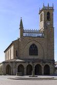 Jhon the Baptist Chuch, Obanos, Navarra, Spain. — Stock Photo