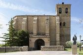 """Nuestra Senora de la Asuncion"" Church, Villatuerta, Navarre. — Stock Photo"
