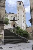 """""""San Pedro de la Rua"""" Church, Estella, Navarre. Spain. — Stockfoto"""
