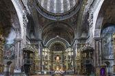 St. Maria Church in Los Arcos, Navarre. Spain. — Foto de Stock