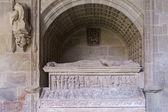 Mausoleum Diego Lopez de Haro, Monastery of Santa Maria la Real  — Stock Photo