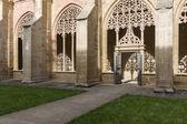 Cloister of the Monastery of Santa Maria la Real de Najera, La R — Stockfoto