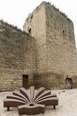 Walls of Santo Domingo de la Calzada, La Rioja. Spain. — Stockfoto