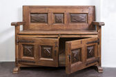 Old Wooden Piece of Forniture — Stock Photo