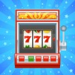 Red slot machine — Stock Vector #21812481
