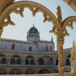 Royalty-Free Stock Photo: Jeronimos Monastery in Lisbon