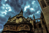 Gothic Sevilla Sky — Stock Photo
