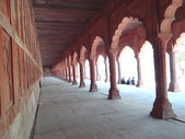 Front Corridor of Taj 1 — Stock Photo