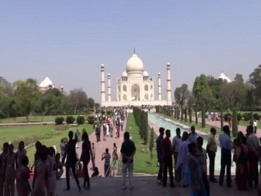 Taj : The Wonder of the World — Stock Video
