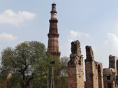 Old Monuments in Qutub Campus — Stock Photo