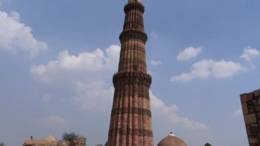 Qutub Minar 3 — Stock Video