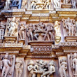 Erotic Arts of Khajuraho — Stock Photo