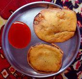 Brinjal Dumpling 2 — Stock Photo