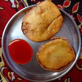 Brinjal Dumpling — Stock Photo