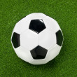 Soccer ball and artificial turf — Stock Photo #32867647