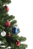 圣诞树上的装饰球 — 图库照片