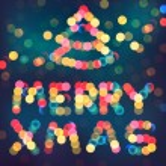 Christmas defocused lights — Stock Vector