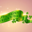 Saint Patrick's day banner — Stock Vector