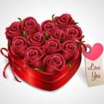 Rose bouquet — Stock Vector