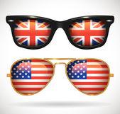 Set of sunglasses — Stock Vector