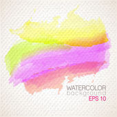 Watercolor banner — Stock Vector