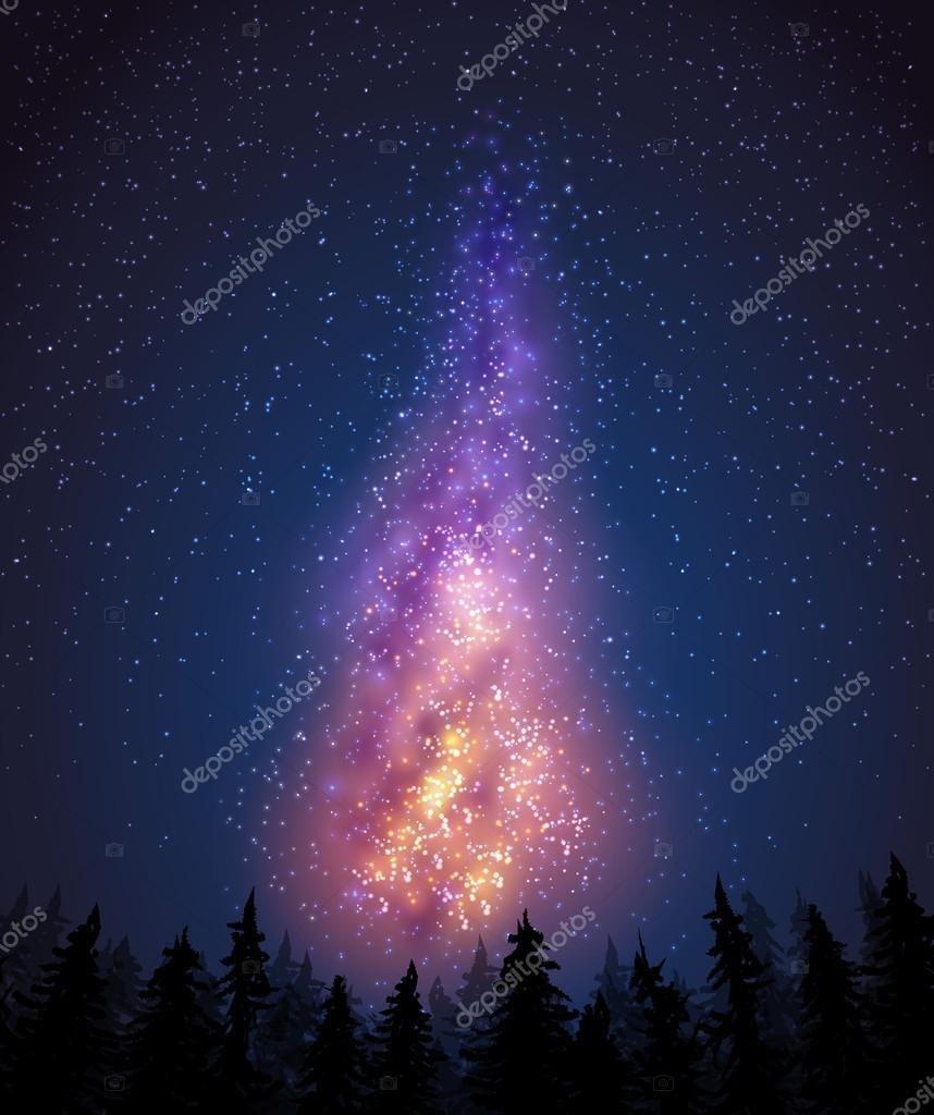 银河— 图库矢量图像08