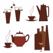 Beverages set — Stock Vector #24217255