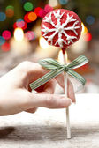 Cake pop - a form of cake styled as a lollipop, invented in USA. — Stock Photo