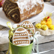 Easter sweets — Stock Photo