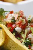 墨西哥沙拉 — 图库照片
