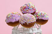 Cake pops — Stock Photo