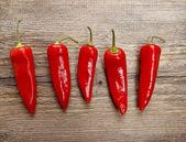Piments rouges chauds — Photo
