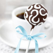 Chocolate cake pop — Stock Photo #24237815