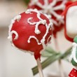 Cake pops - a form of cake styled as a lollipop, invented in USA — Stock fotografie