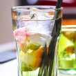 Colorful refreshing drink — Foto de stock #25862133