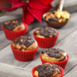 Stock Photo: Poppy-seed muffins