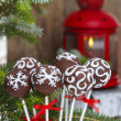 Royalty-Free Stock Photo: Chocolate cake pops