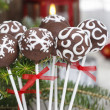 Chocolate cake pops — Foto Stock
