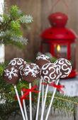 Pastel de chocolate pops — Foto de Stock