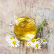 Stock Photo: Chamomile tea