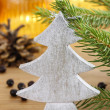 Stock Photo: Traditional christmas tree decoration