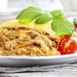 Lasagna, traditional italian dish — Stock Photo #28762675