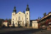 Front of Sanctuary in Kalwaria Zebrzydowska - Poland, Europe — Stock Photo