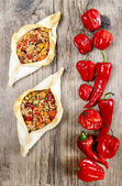 Pide, also known as Pita in some countries — Stock Photo