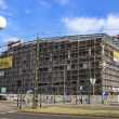 Krakow congress centre under construction — Stock Photo