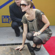 ������, ������: Celine Dion in Krakow where she was honored with the first star