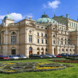 Juliusz Slowacki Theatre in Krakow, Poland, erected in 1893, was — Stock Photo