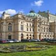Juliusz Slowacki Theatre in Krakow, Poland, erected in 1893, was — Stock Photo