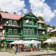 Stock Photo: Historic city centre of KrynicZdroj, famous XIX century Polish