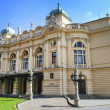 Juliusz Slowacki Theatre in Krakow, Poland, erected in 1893, was — Stock Photo #31836523